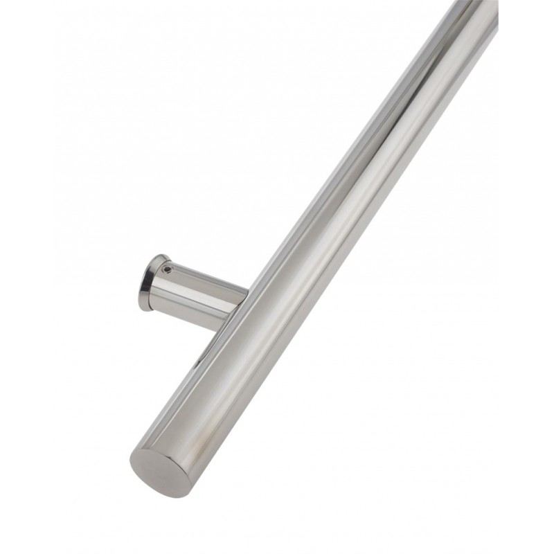 Composite Door Single Pull Handle 1200mm Bolt Fix