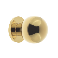 Ball Shaped Door Center Knob 55mm Diameter Gold PVD Stainless