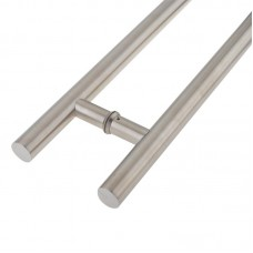 Composite Door B to B Pull Handle Inline 1200mm 304 SS