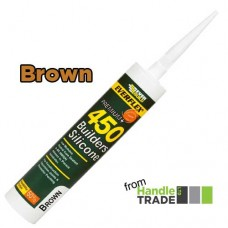 Everbuild 450 Builders Silicone 310ml Brown