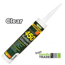 Everbuild 450 Builders Silicone 310ml Clear