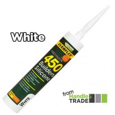Everbuild 450 Builders Silicone 310ml White