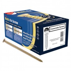 Multi Fix Concrete Screw 7.5 x 40mm Yellow
