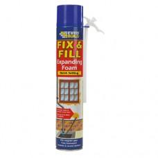 Everbuild - Everbuild Fill & Fix Expanding Foam 750ml - EVFF7