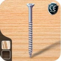 Twin Threaded Wood Screws