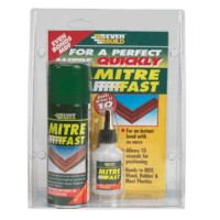Everbuild Mitre Fast Super Glue Bonding Kit