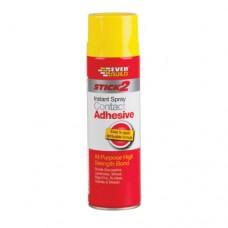 Everbuild - Everbuild Spray Contact Adhesive 500ml - CONSPRAY5