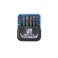 V5 Impact 50mm Long Mixed Set Pozi, PH, Torx