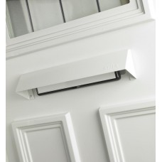 Mila - Letter Plate Security Cowl 349mm White - 111008