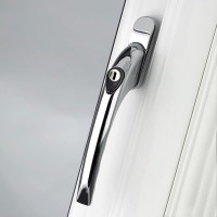 Pro Linea Window Espag Handle Inline 40mm Locking CP