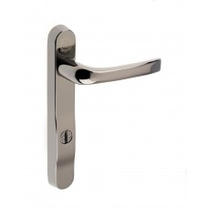 Pro Secure PZ92 Door Handle 220mm Backplate Smokey Chrome