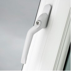 Pro Linea Window Espag Handle LH Cranked 40mm Locking WH