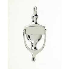 "Mila - Victorian Urn Door Knocker 6"" in Polished Chrome - 590001"