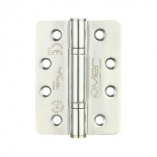 "Radius Ball Bearing Door Hinge 4 x 3"" Grade 14 201 SS"