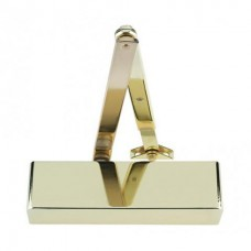 Door Closer Size 2 - 4 Polished Brass