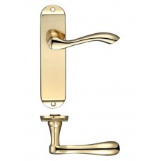Arundel Latch Door Handle 42 x 170mm PB