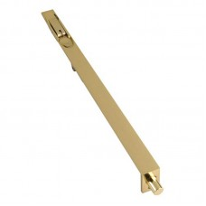 Lever Action Door Flush Bolt 300 x 20mm PB