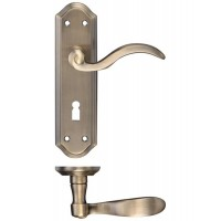 Winchester Lever Lock Door Handle 48 x 180mm FB