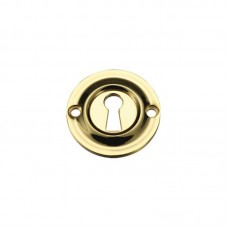 Standard Key Profile Door Escutcheon 42mm PB