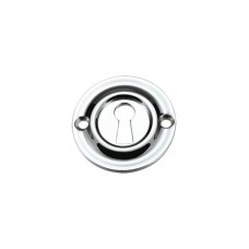 Standard Key Profile Door Escutcheon 42mm CP