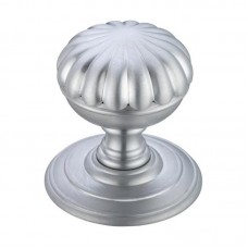 Flower Mortice Door Knob on Round 70mm Rose SC