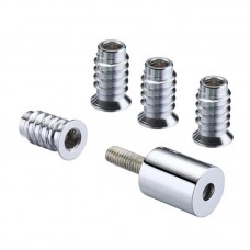 Window Roller Sash Stop 19mm CP