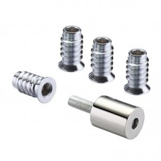 Window Roller Sash Stop 19mm PVDN