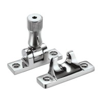 Brighton Pattern Sash Window Fastener with Key CP