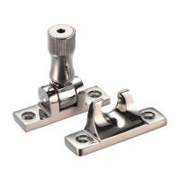 Brighton Pattern Sash Window Fastener with Key  PVDN