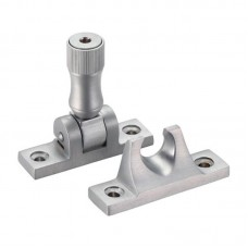 Fulton & Bray - Brighton Pattern Sash Window Fastener with Key  SC - FB32LCKSC