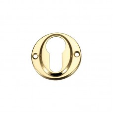 Euro Profile Door Escutcheon 45mm PB