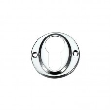Euro Profile Door Escutcheon 45mm CP