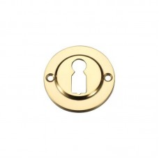 Standard Key Profile Door Escutcheon 45mm PB