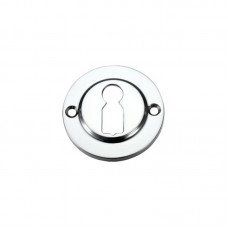Standard Key Profile Door Escutcheon 45mm CP