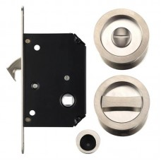 Fulton & Bray - Sliding Door Lock Set SN - FB81SN