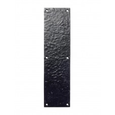 Door Finger Plate 76 x 292mm Pushplate BK