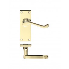 Zoo Hardware - Rectangular Lever Latch Door Handle 40 x 114mm EB - PR022EB