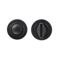 Rosso Maniglie Bathroom Door Turn & Release 50mm Rose PCB