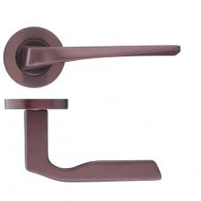 Rosso Maniglie - Lyra Door Handle Screw on Rose Electro Coated Broze RM090ECBZ