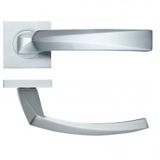 Hydra Door Handle on Square Rose SC