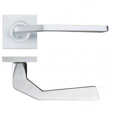 Rosso Maniglie - Auriga Door Handle on Square Rose SC - RMSQ140SC