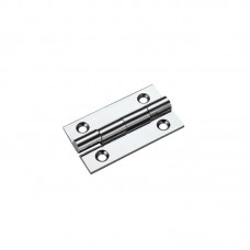 Top Draw Fittings - Cabinet Butt Hinge 38mm x 22mm x 1.3mm CP - TDF100CP
