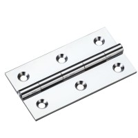 Cabinet Butt Hinge 75mm x 41mm x 2mm CP