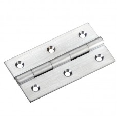 Top Draw Fittings - Cabinet Butt Hinge 75mm x 41mm x 2mm SC - TDF115SC