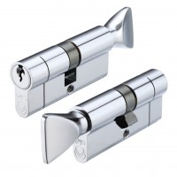 Euro Door Cylinder and Thumbturn V5 Finish Option