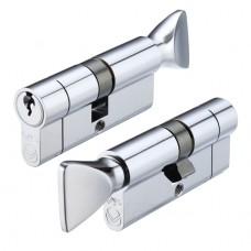 Vier - Euro Door Cylinder and Thumbturn V5 Finish Option V5EPCT