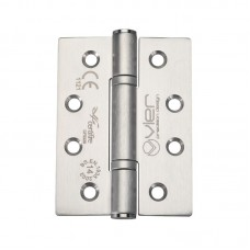 "Ball Bearing Door Hinge 4 x 3"" Grade 14 201 SS"
