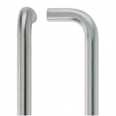 D' Shaped Door Pull Handle - 19mm Dia. x 425mm 304 SS