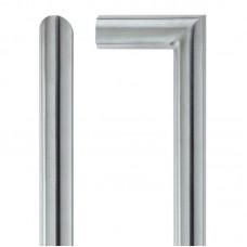 Mitred Door Pull Handle 19mm Dia. x 425mm 304 SS