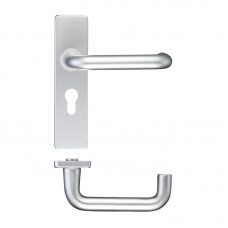 RTD 19mm Dia Euro Lock Door Handle 44 x 178mm SA